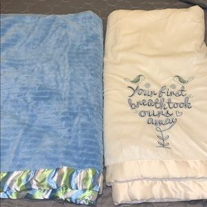 2 Baby Blankets